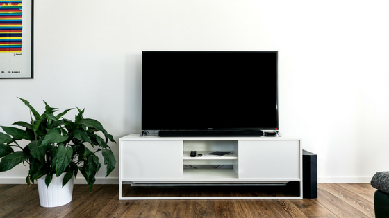 Television in Lounge Room