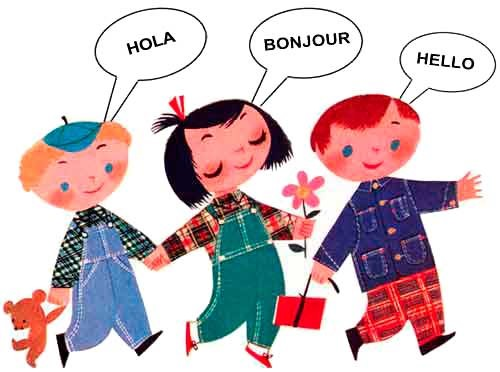 Languages Cartoon
